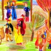 La imagen del niño de cuarto grado  Por Florencia Toscani