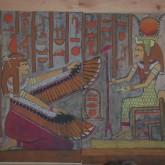 Isis, Antiguo Egipto. 5to grado 2014. Realizado por Diego Moller. Participación de Florencia Toscani