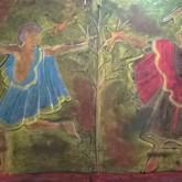 Danza de etruscos Erika Freiria. Sexto grado.