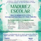 Invitación Jornada interdisciplinaria de Salud y Educación en relación con la madurez escolar