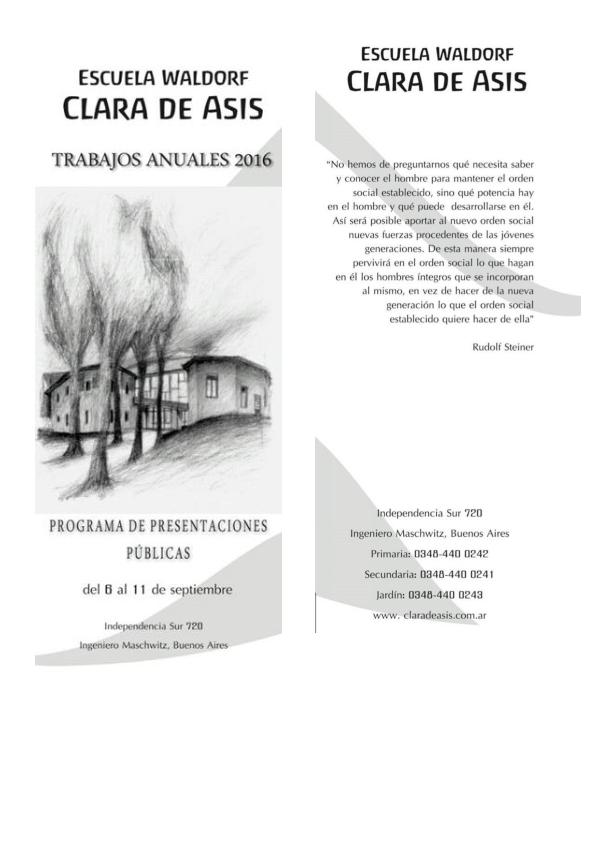 Programa TRABAJOS ANUALES 2016_001