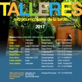 TALLERES EXTRACURRICULARES 2017