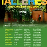 TALLERES EXTRACURRICULARES 2018